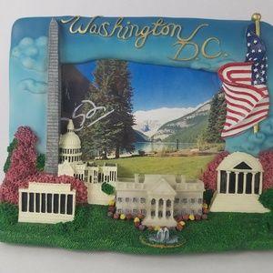 """Other - Washington DC Souvenir 3D Picture Frame 3.5""""x5"""""""